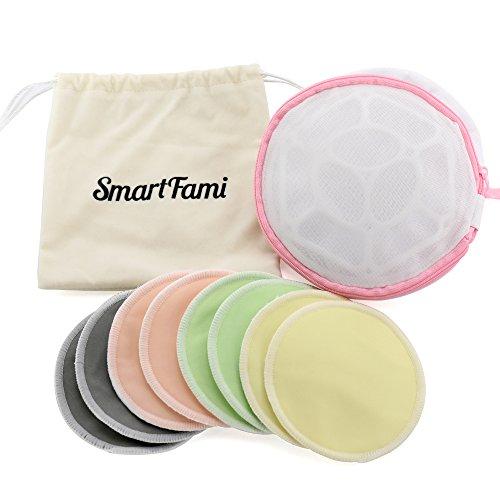Les meilleurs coussinets d'allaitement, lavables et biologiques, fabriqués à partir de...