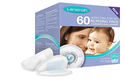 Lansinoh - Coussinets d'allaitement jetables, 60 pièces