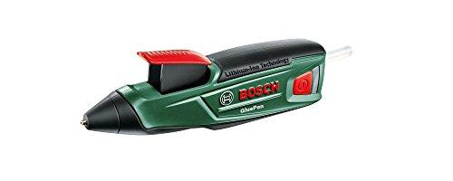 Bosch GluePen - Pistolet à colle sur batterie (chargeur microUSB, 4 pcs. de...