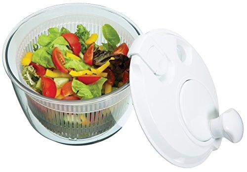 Mini essoreuse à salade Kitchen Craft Compact Salad Spinner, blanc