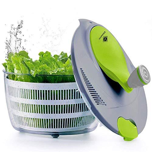 Kilokelvin L'essoreuse à salade de cuisine en plastique 4 litres Séchoir
