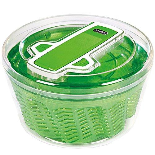 Zyliss - Centrifugeuse à salade sèche Swift, verte, grande, en plastique