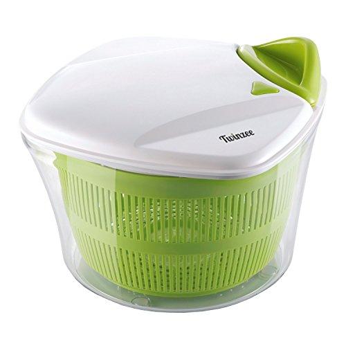 Centrifugeuse à salade de grande capacité (5L) - Conception innovante avec...