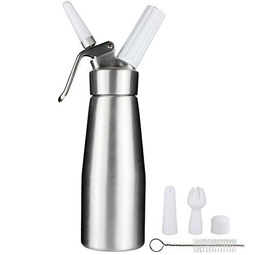 Siphon de cuisine Sivaphe Distributeur de crème 500ml Siphon de crème en aluminium ...