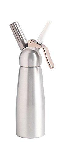 Mastrad F49314 - Siphon à mousse/sauce/crème en acier inoxydable, 8 x 8...