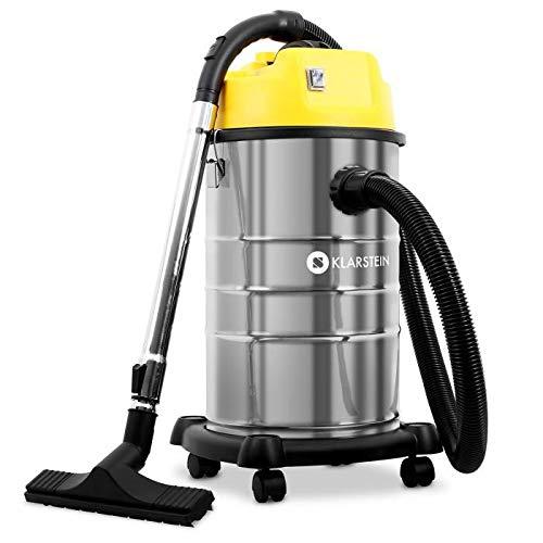 Klarstein IVC-30 - Aspirateur industriel, sec et humide, double moteur,...