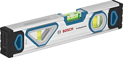 Bosch Professional - Niveau à bulle magnétique (longueur 25 cm, bulle...