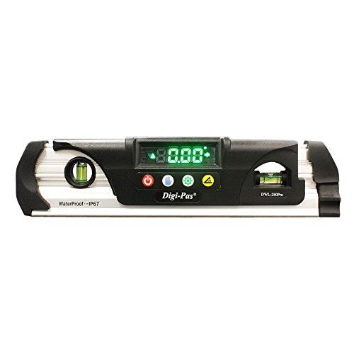 Digi-Pas DWL280PRO - Niveau numérique (paquet de 1, Almunio)