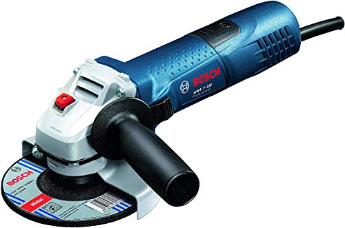 Bosch Professional GWS 7-125 - Meuleuse d'angle (720W, 11000 tr/min, Ø disque...