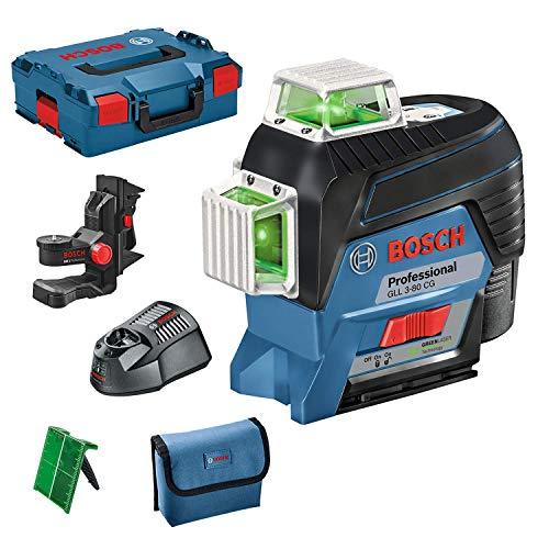 Niveau laser professionnel Bosch GLL 3-80 CG (laser vert, ...