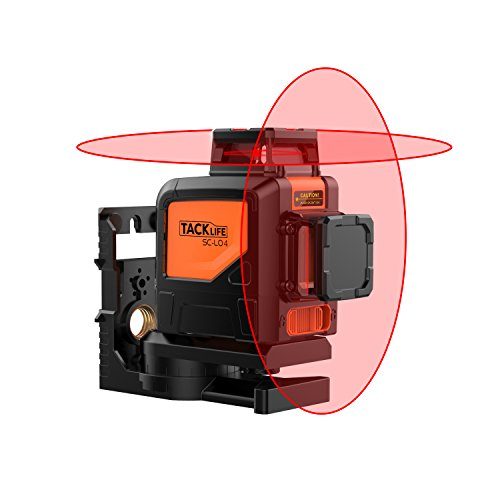 Niveau laser à nivellement automatique 360ºx2, Tacklife SC-L04, 30M,...