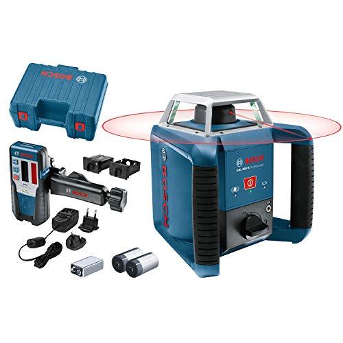 Bosch Professional GRL 400 H - Niveau laser rotatif (portée 400 m,...