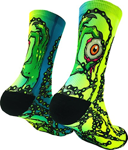 DeRocca Eyes Design Mtb Socks (M)