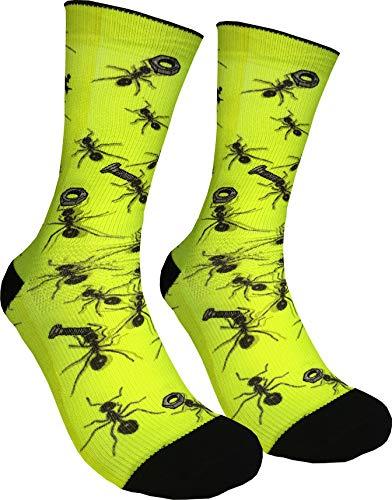 DeRocca MTB chaussettes fourmis (M)