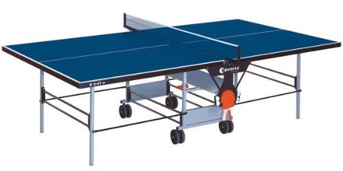 Sponeta Tischtennis S 3-47 E - Table de tennis de table (extérieur, résistant aux intempéries), couleur bleue