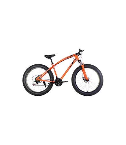 Vélo tout terrain Riscko Fat Bike Bep-011 Shimano Shift Orange Fluor