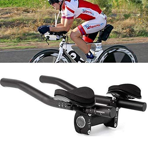 Guidon Sortim Aero Triathlon Bar Tri-Clock Brake for Bike Rest Handlebar, Mountain Bike or Road Bike Aluminium Alloy...
