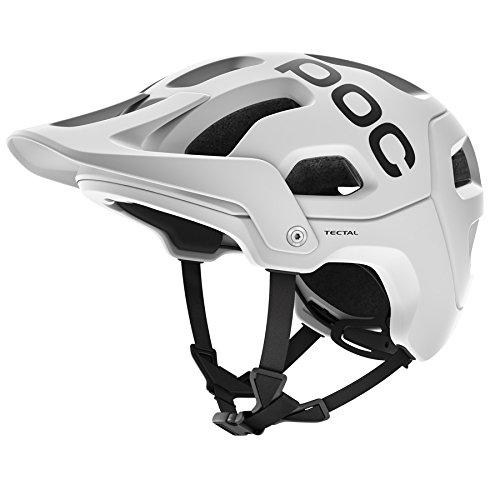 POC PC105051001XSS1 Tectal - Casque de vélo de montagne unisexe pour adulte, blanc (blanc hydrogène), XS-S/51-54