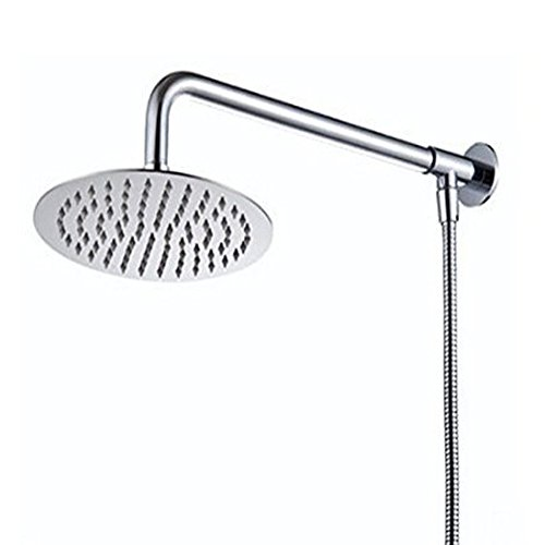 Hiendure 30cm Wall mount Rain Round Shower head With...