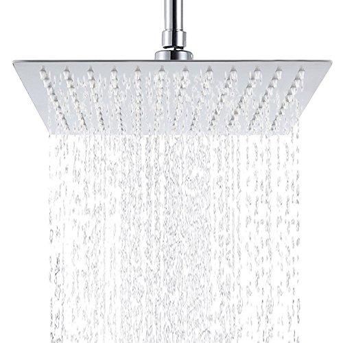 Robinets de lavabo de salle de bains Hiendure® Poignée à levier unique, Chrome...
