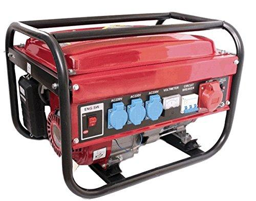 Générateur électrique à essence 230/380V...
