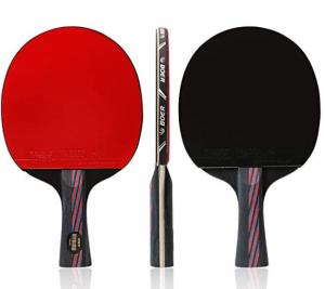 raquettes de ping-pong en caoutchouc