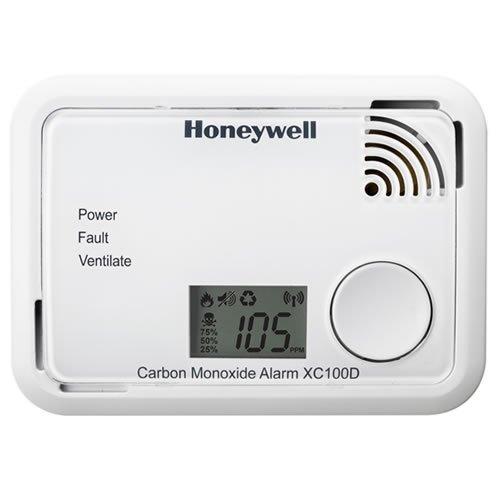 Honeywell XC100D - Alarme au monoxyde...
