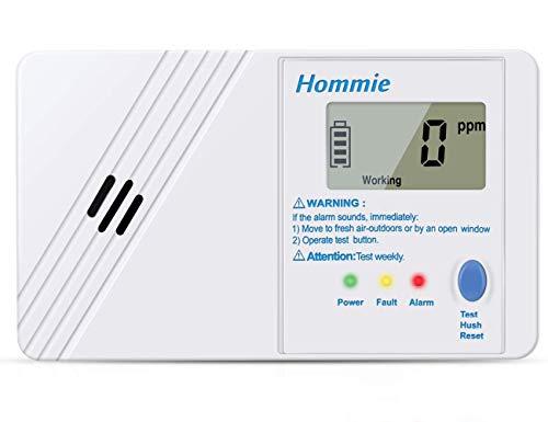 Détecteur de monoxyde de carbone Hommie...